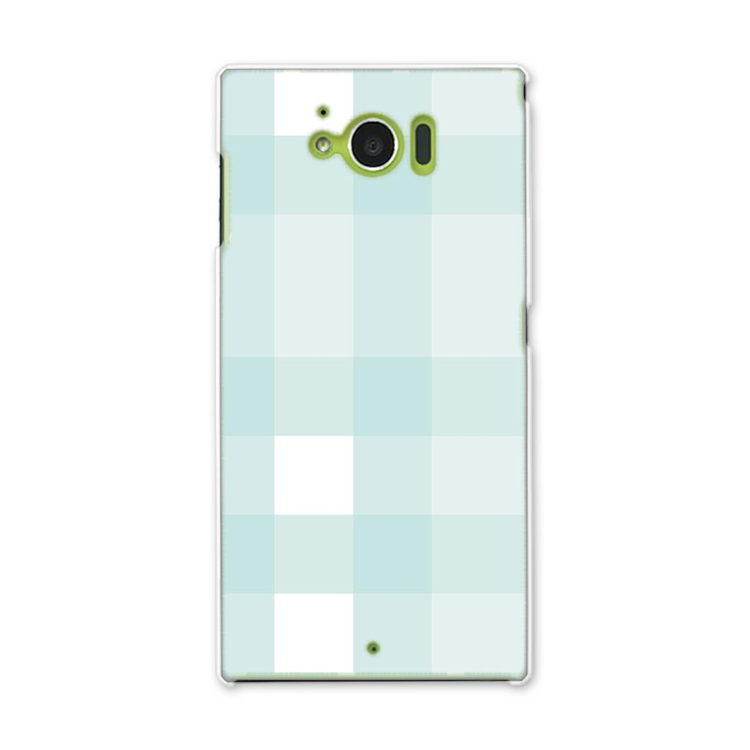 Case smartphone case smartphone cover PC hardware case check bluish white  check border 004223 that there is all SHV32 AQUOS SERIE lye male Serie  shv32