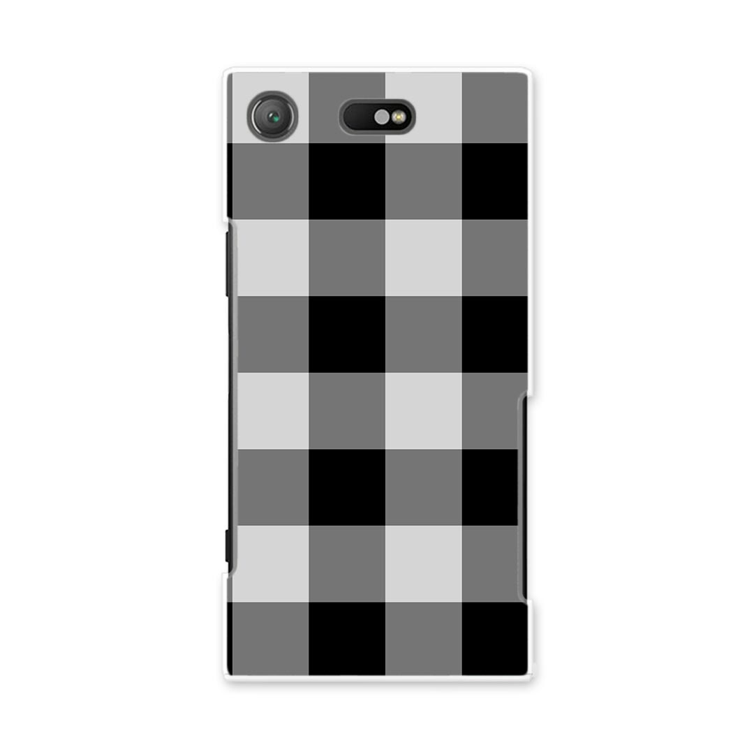 All SO-02K XPERIA XZ1 Compact Xperia so02k docomo docomo smartphone cover  model-adaptive case smartphone case smartphone cover PCs hard case check