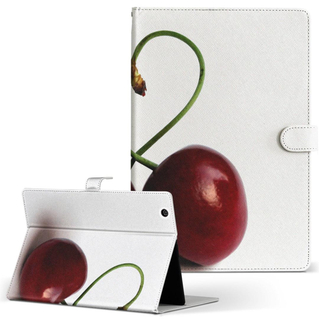 d-01J 手帳型ケース レザー かわいい ダイアリー 人気 タブレット ケース カバー Huawei 新作からSALEアイテム等お得な商品 満載 dtab Compact ディータブコンパクト フリップ d01jdtabct 果物 ブランド激安セール会場 写真 二つ折り 風景 革 002788 Mサイズ 手帳型 タブレットケース ハート