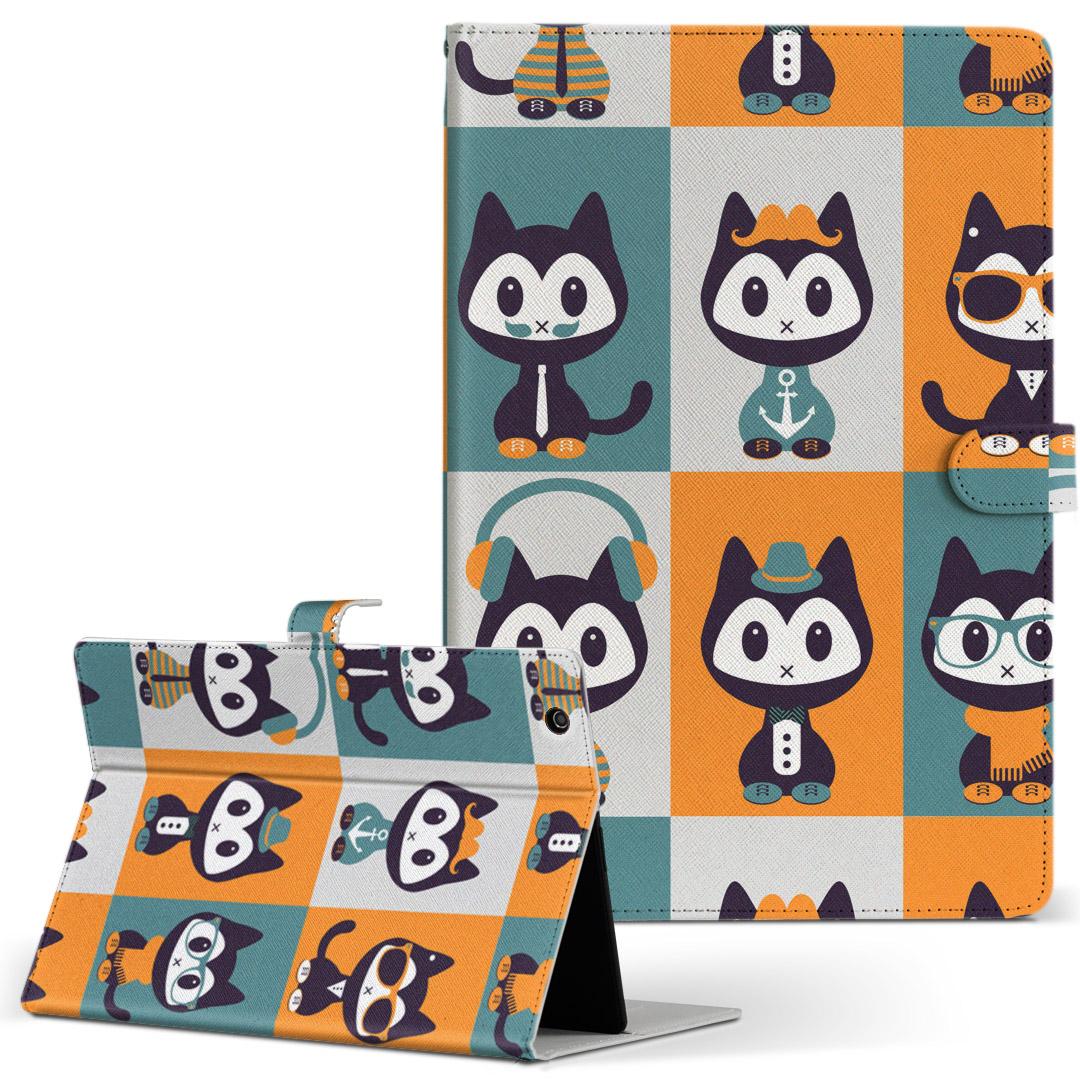 iPad mini 4 手帳型ケース レザー かわいい ダイアリー 人気 タブレット 人気ショップが最安値挑戦 ケース カバー Apple フリップ 動物 アニマル 二つ折り 003583 ipadmini4 Mサイズ キャラクター 手帳型 タブレットケース 革 猫 ギフト