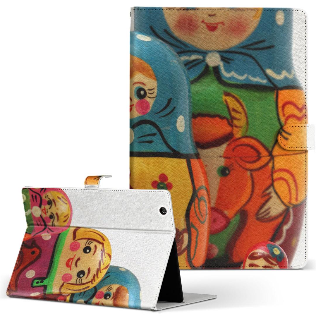 手帳型ケース レザー かわいい ダイアリー 人気 タブレット ケース 買い取り カバー Huawei dtab d-01K ファーウェイ 手帳型 予約販売 二つ折り ユニーク Lサイズ フリップ 革 写真 004538 キャラクター d01k タブレットケース