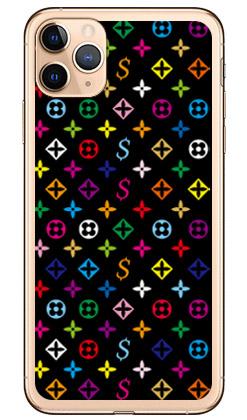 【送料無料】 Monogram ブラック (ソフトTPUクリア) design by ROTM / for iPhone 11 Pro Max/Apple 【SECOND SKIN】アップル iphone11 pro max iphone11 pro max ケース iphone11 pro max カバー アイフォーン11プロマックス ケース