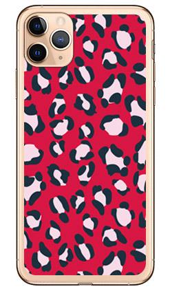【送料無料】 Leopard レッド (ソフトTPUクリア) design by ROTM / for iPhone 11 Pro Max/Apple 【SECOND SKIN】アップル iphone11 pro max iphone11 pro max ケース iphone11 pro max カバー アイフォーン11プロマックス ケース アイフォーン11プロマックス カバー