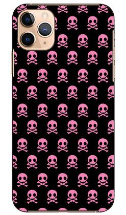 【送料無料】 スカル柄 ピンク×ブラック design by ARTWORK / for iPhone 11 Pro Max/Apple 【Coverfull】アップル iphone11 pro max iphone11 pro max ケース iphone11 pro max カバー アイフォーン11プロマックス ケース アイフォーン11プロマックス カバー