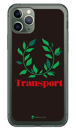 【送料無料】 Transport Laurel ブラック (ソフトTPUクリア) design by Moisture / for iPhone 11 Pro/Apple 【SECOND SKIN】【ソフトケース】アップル iphone11 pro iphone11 pro ケース iphone11 pro カバー アイフォーン11プロ ケース アイフォーン11プロ カバー