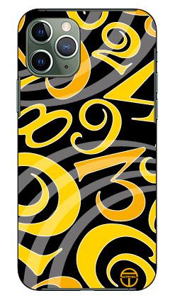 【送料無料】 おしゃれな数字 黒×黄色 design by ARTWORK / for iPhone 11 Pro/Apple 【Coverfull】【スマホケース】【ハードケース】アップル iphone11 pro iphone11 pro ケース iphone11 pro カバー アイフォーン11プロ ケース アイフォーン11プロ カバー