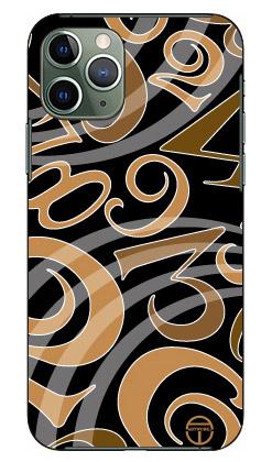 【送料無料】 おしゃれな数字 黒×茶 design by ARTWORK / for iPhone 11 Pro/Apple 【Coverfull】【受注生産】【スマホケース】【ハードケース】アップル iphone11 pro iphone11 pro ケース iphone11 pro カバー アイフォーン11プロ ケース アイフォーン11プロ カバー