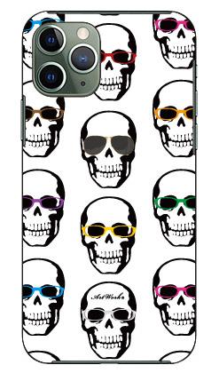 【送料無料】 スカルとメガネ 白 design by ARTWORK / for iPhone 11 Pro/Apple 【Coverfull】【受注生産】【スマホケース】【ハードケース】アップル iphone11 pro iphone11 pro ケース iphone11 pro カバー アイフォーン11プロ ケース アイフォーン11プロ カバー
