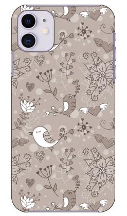 【送料無料】 メルヘンな鳥 モノトーン produced by COLOR STAGE / for iPhone 11/Apple 【Coverfull】【全面】【受注生産】【スマホケース】【ハードケース】アップル iphone11 iphone11 ケース iphone11 カバー アイフォーン11 ケース アイフォーン11 カバー
