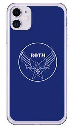 【送料無料】 R.O.T.M air force ネイビー (ソフトTPUクリア) design by ROTM / for iPhone 11/Apple 【SECOND SKIN】【受注生産】【スマホケース】【ソフトケース】アップル iphone11 iphone11 ケース iphone11 カバー アイフォーン11 ケース アイフォーン11 カバー