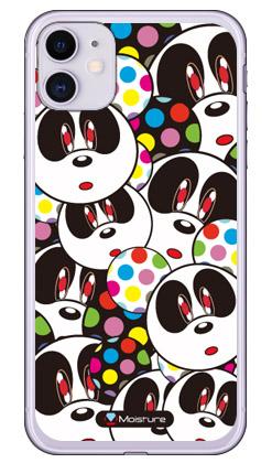 【送料無料】 Panda Face (ソフトTPUクリア) design by Moisture / for iPhone 11/Apple 【SECOND SKIN】【平面】【受注生産】【スマホケース】【ソフトケース】アップル iphone11 iphone11 ケース iphone11 カバー アイフォーン11 ケース アイフォーン11 カバー
