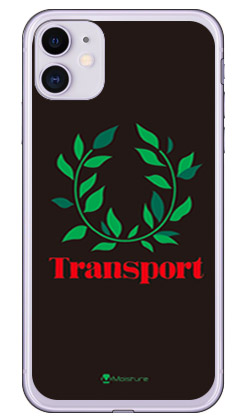 【送料無料】 Transport Laurel ブラック (ソフトTPUクリア) design by Moisture / for iPhone 11/Apple 【SECOND SKIN】【スマホケース】【ソフトケース】アップル iphone11 iphone11 ケース iphone11 カバー アイフォーン11 ケース アイフォーン11 カバー