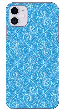 【送料無料】 ペイズリーハート ブルー produced by COLOR STAGE / for iPhone 11/Apple 【Coverfull】【全面】【受注生産】【スマホケース】【ハードケース】アップル iphone11 iphone11 ケース iphone11 カバー アイフォーン11 ケース アイフォーン11 カバー