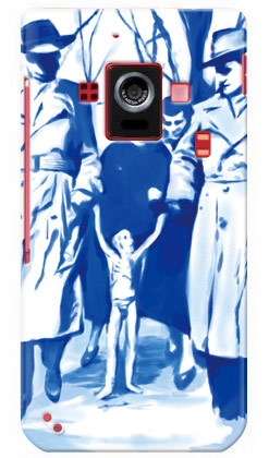 【送料無料】 FRIENDS 1 designed by NNNNY / for AQUOS PHONE ZETA SH-02E/docomo 【SECOND SKIN】【ハードケース】aquos phone zeta sh-02e カバー スマホケース スマホカバー アクオス フォン sh02e ケース/カバー/CASE/ケース