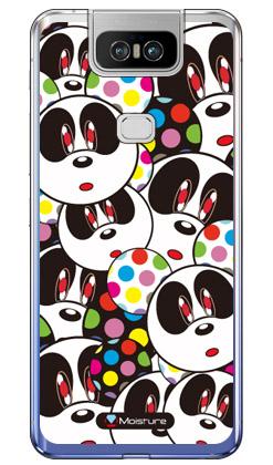 【送料無料】 Panda Face (ソフトTPUクリア) design by Moisture / for ZenFone 6 ZS630KL/MVNOスマホ(SIMフリー端末) 【SECOND SKIN】【ソフトケース】zenfone 6 ケース zenfone 6 カバー zs630kl ケース zs630kl カバー ゼンフォン6 ケース ゼンフォン6