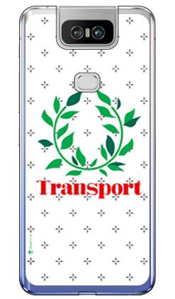 【送料無料】 Transport Laurel クロスドット ホワイト (ソフトTPUクリア) design by Moisture / for ZenFone 6 ZS630KL/MVNOスマホ(SIMフリー端末) 【SECOND SKIN】zenfone 6 ケース zenfone 6 カバー zs630kl ケース zs630kl カバー ゼンフォン6 ケース