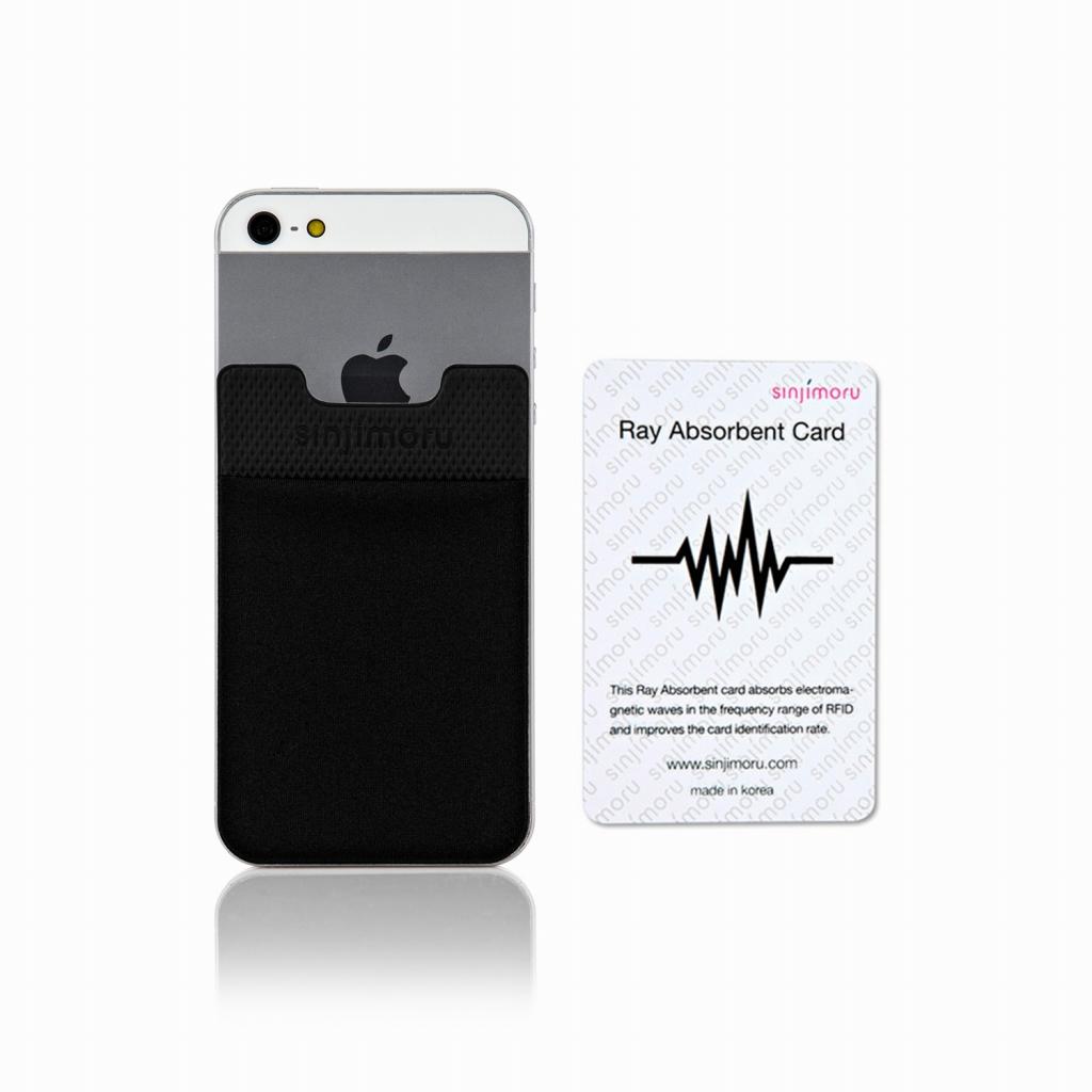 機種を問わずに使えるステッカータイプのポケット 読み取りエラー防止シート付き 送料無料 在庫一掃 ROOX ステッカーブルポケット Sinji Pouch Basic2 ブラック エラー防止シート付きスマホアクセ icカード カード 激安 背面ポケット 便利 スマホ アイフォン 簡単 人気 iPhone 収納ポケット ステッカーポケット アイフォーンスマートフォン