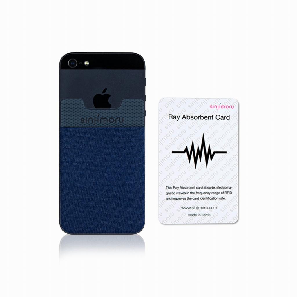 機種を問わずに使えるステッカータイプのポケット 読み取りエラー防止シート付き 送料無料 ROOX 70%OFFアウトレット ステッカーブルポケット Sinji Pouch Basic2 ネイビー エラー防止シート付きスマホアクセ icカード カード スマホ 人気 iPhone 簡単 背面ポケット ステッカーポケット 収納ポケット アイフォン アイフォーンスマートフォン 激安 便利 倉