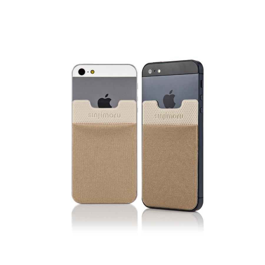スマートフォンやタブレットなどに貼って剥がせるステッカーブルポケット 送料無料 ROOX ステッカーブルポケット Sinji Pouch Basic2 ベージュ スマホアクセ icカード カード 送料無料(一部地域を除く) 便利 人気 収納ポケット ステッカーポケット アイフォン アイフォーンスマートフォン iPhone 18%OFF スマホ 激安 簡単 背面ポケット