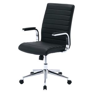 【送料無料】 SANWA SUPPLY(サンワサプライ) PUレザーチェア(ブラック) SNC-L12BKレザー 椅子 レザーチェア oaチェア オフィスチェア パソコンチェア デスクチェア ワークチェア オフィスチェアー デスクチェアー パソコンチェアー pcチェア チェア チェアー 椅子