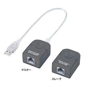 【送料無料】 SANWA SUPPLY(サンワサプライ) USBエクステンダ- USB-RP40