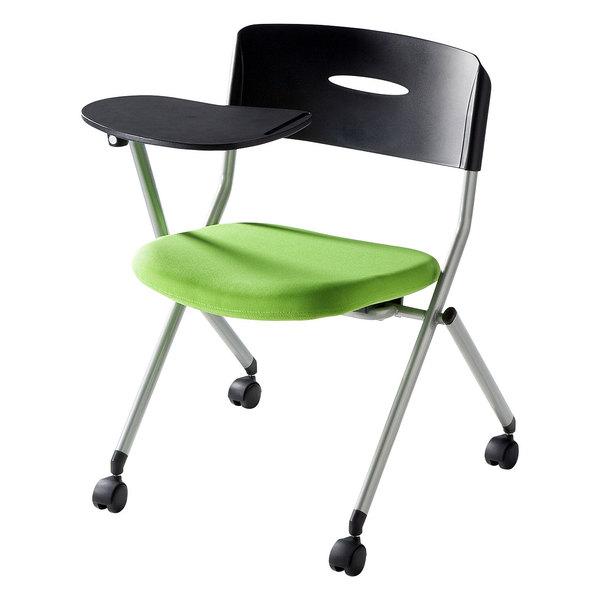 【送料無料】 SANWA SUPPLY(サンワサプライ) メモ台付きミーティングチェア SNC-ST6MAG家具 オフィス チェア 椅子 イス ミーティングチェア チェア 1人 チェア オフィス チェア おしゃれ 椅子 オフィス オフィス 椅子 パソコンチェア デスクチェア オフィスチェア