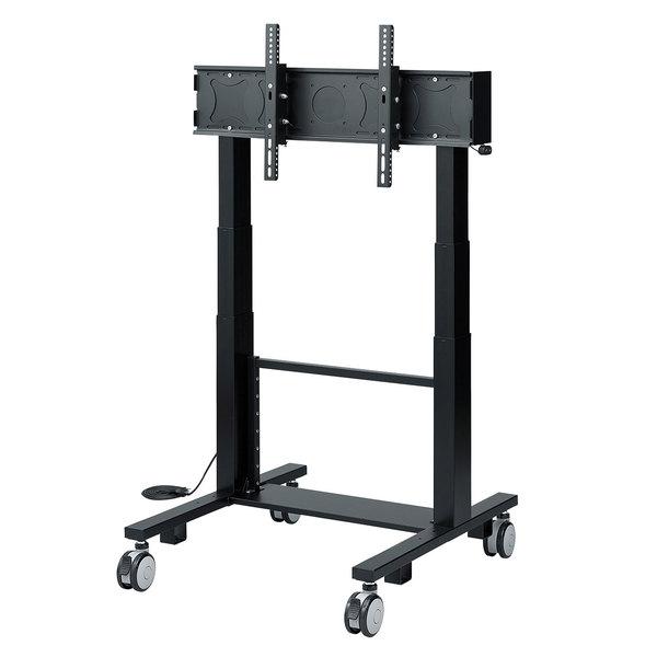 【送料無料】 SANWA SUPPLY(サンワサプライ) 32型~65型対応電動上下昇降液晶・プラズマディスプレイスタンド CR-PL23BK液晶 ディスプレイ スタンド ディスプレースタンド 液晶スタンド 安定 移動式テレビスタンド ディスプレイスタンド テレビスタンド TVスタンド