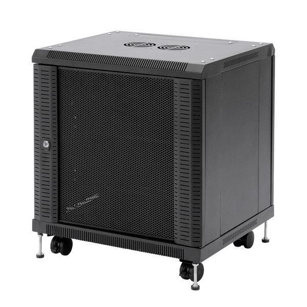 【送料無料】 SANWA SUPPLY(サンワサプライ) 19インチマウントボックス(11U) CP-SVCBOX2小型機器 収納 セキュリティ対策 便利 コンパクト 19インチボックス ハブ HDD バックパネル 鍵 全面メッシュパネル 放熱性 棚板 標準装備 ユニバーサルピッチ ケージナット対応