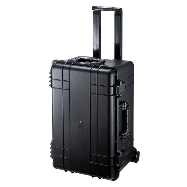 【送料無料】 SANWA SUPPLY(サンワサプライ) ハードツールケース(キャリータイプ) BAG-HD5丈夫 頑丈 ハードケース パソコン 精密機器 持ち運び 保管 キャリータイプ クッション 波型 衝撃吸収 保護 ツールケース キャリーケース ハードケース 移動 スーツケース