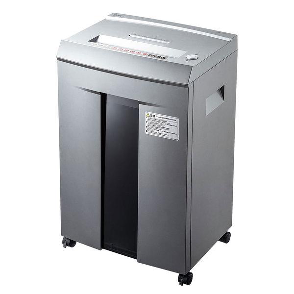 【送料無料】 SANWA SUPPLY(サンワサプライ) ペーパー&CDシュレッダー(40分連続・マイクロカット・16枚) PSD-M4016