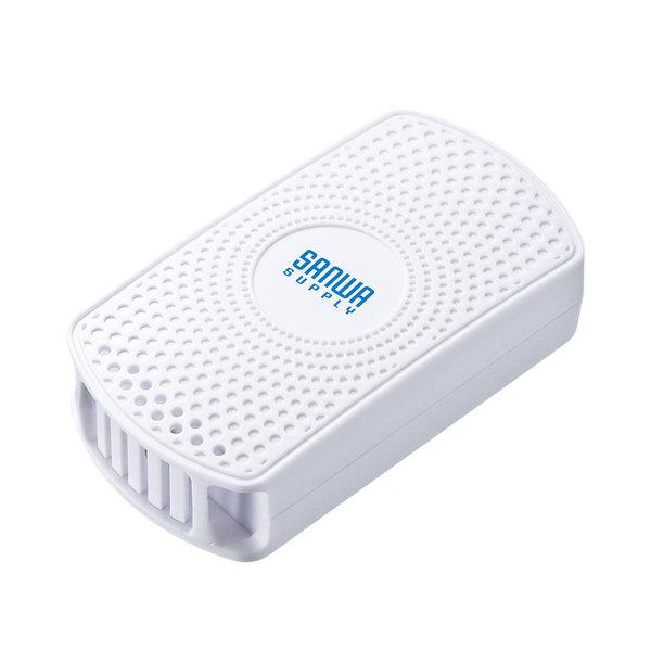 【送料無料】 SANWA SUPPLY(サンワサプライ) 温度・湿度センサー搭載BLEビーコン(3個セット) MM-BLEBC7ビーコン 6スロット マルチアドバタイズ iBeacon Eddystone データフォーマット 同時 温度 湿度 トリガーモード ログ保存 グラフ表示 ios android 無償 簡単