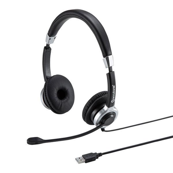 【送料無料】 SANWA SUPPLY(サンワサプライ) ノイズキャンセリングUSBヘッドセット MM-HSU15ANCマイク アクティブノイズキャンセリング USBヘッドセット 騒音 低減 クリア 音声入力 イヤーパッド ヘッドアームパッド 高品質PUレザー 低反発ウレタン内蔵