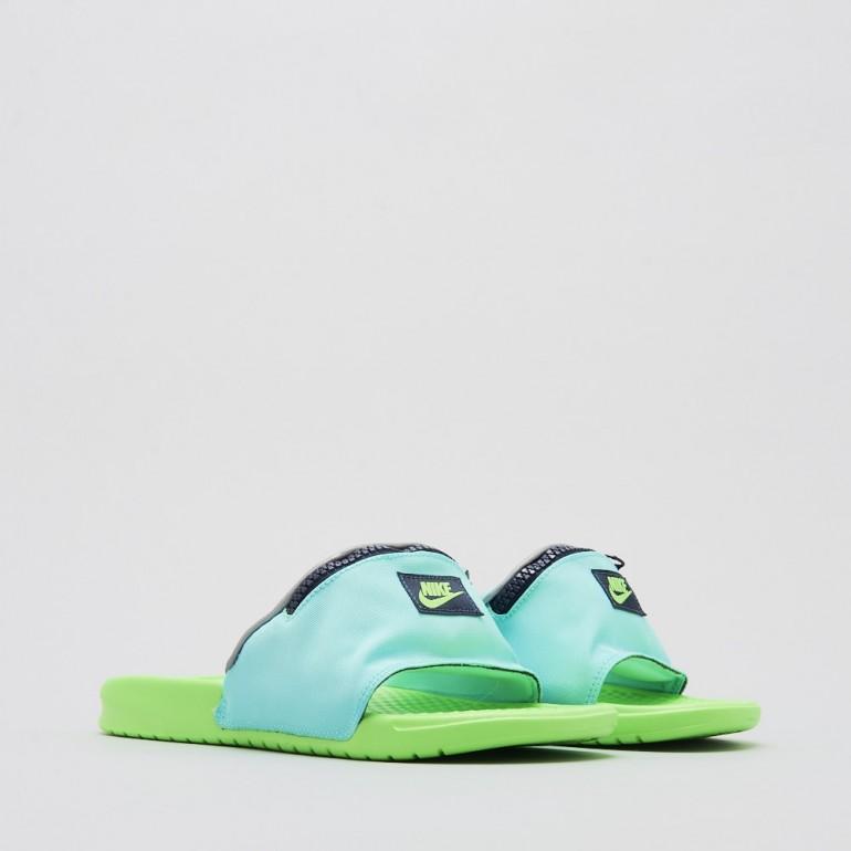 【代金引換不可】 送料無料 Men's メンズ 店舗限定 Nike Sportswear Benassi JDI Fanny Pack Green / Blue AO1037-001 ナイキ べナッシ JDI ファニー パック グリーン ブルー サンダル スニーカー アパレル ファッション
