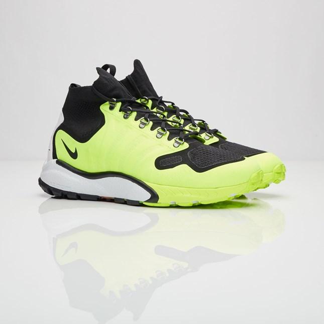 【代金引換不可】 送料無料 men's メンズ 店舗限定 NikeLab Air Zoom Talaria Mid FK Lab Black/Black/Volt/White 856955-007 ナイキラボ エア ズーム タラリア ミッド FK ブラック イエロー 人気 おしゃれ かわいい スニーカー シューズ 靴 ファッション
