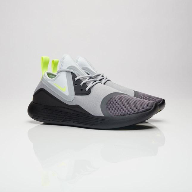【代金引換不可】 送料無料 men's メンズ 店舗限定 海外限定 日本未発売 Nike Lunarcharge BN Dark Grey/Volt/Black 933811-070 ナイキ ルナチャージ BN グレー イエロー ブラック ストリート 人気 おしゃれ かわいい スニーカー シューズ 靴