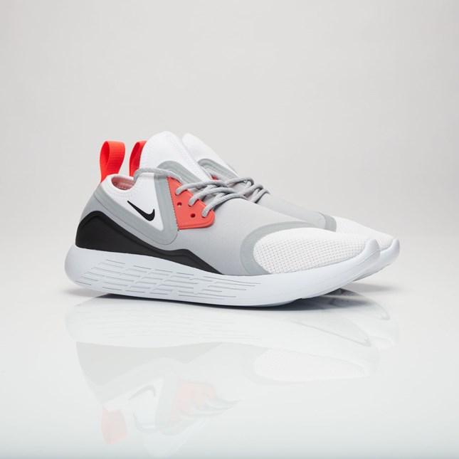 【代金引換不可】 送料無料 men's メンズ 店舗限定 海外限定 日本未発売 Nike Lunarcharge BN Wolf Grey/White/Black 933811-010 ナイキ ルナチャージ BN グレー ホワイト ブラック オレンジ ストリート 人気 おしゃれ かわいい スニーカー シューズ 靴