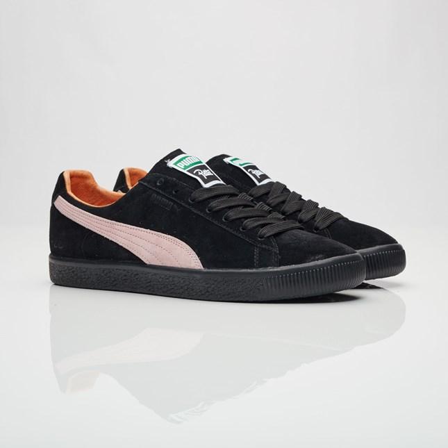 送料無料 men's メンズ 店舗限定 海外限定 日本未発売 Puma Clyde X Patta Puma Black/Prism Pink/Puma Black 363312-01 プーマ クライド X パタ ブラック ピンク ファッション アパレル ストリート 人気 おしゃれ かわいい スニーカー シューズ 靴