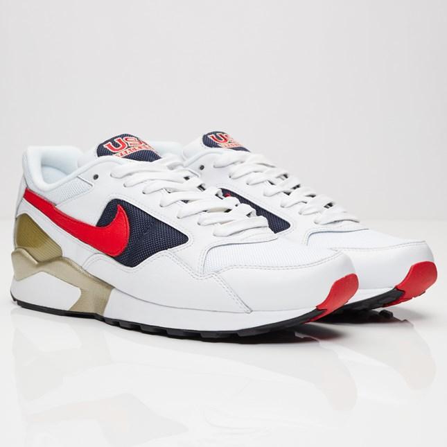 【代金引換不可】 送料無料 店舗限定 Men's メンズ Nike Air Pegasus 92 Premium White University Red-Midnight Navy 844964-100 ナイキ エア ペガサス 92 プレミアム ホワイト ネイビー レッド USA アメリカ スニーカー 靴 おしゃれ かわいい 人気 激安