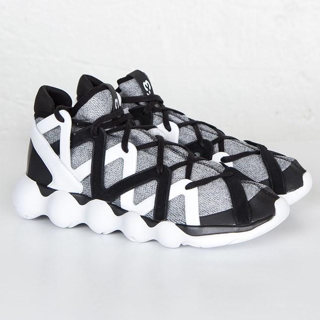 【代金引換不可】 送料無料 店舗限定 men's メンズ adidas Y-3 Kyujo High Core Black Ftwr White Core Black AQ5544 Y3 アディダス キュージョー ハイ ブラック ホワイト ハイカット 人気 おしゃれ かわいい スニーカー シューズ 靴 ファッション