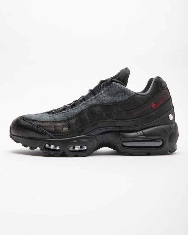 Men's men store limited NIKE AIR MAX 95 NRG JACKET PACK BLACKTEAM RED ANTHRACITE AT6146 001 Kie Ney AMAX 95 NRG jacket pack black red apparel fashion