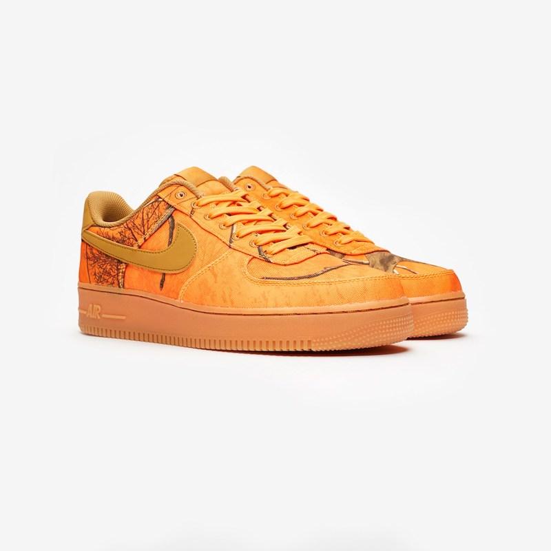 【代金引換不可】 送料無料 Men's メンズ 店舗限定 Nike Sportswear Air Force 1 07 LV8 3 Ao2441-800 Orange Blaze/Wheat オレンジ スニーカー アパレル ファッション