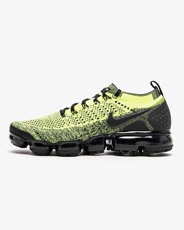 buy online 20243 caacb Men's men store-limited NIKE AIR VAPORMAX FLYKNIT 2 VOLT/BLACK-VOLT  942,842-701 Kie Ney Avi gone max fried food knit black yellow sneakers  apparel ...