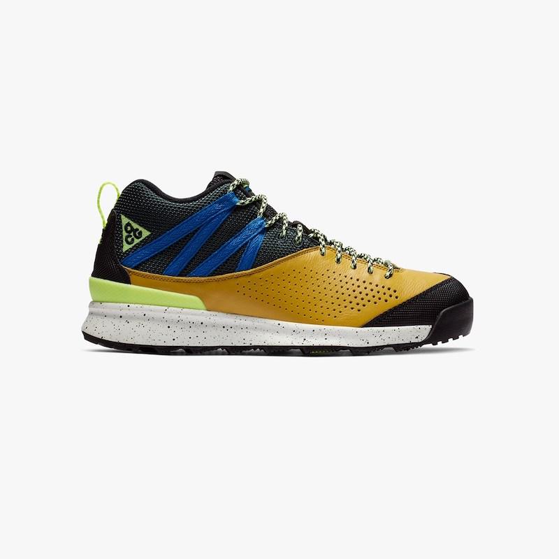 【代金引換不可】 送料無料 Men's メンズ 店舗限定 Nike ACG Okwahn II 525367-301 Dark Citron/Volt Glow/Outdoor Green ナイキ ACG オクワン 2 スニーカー アパレル ファッション