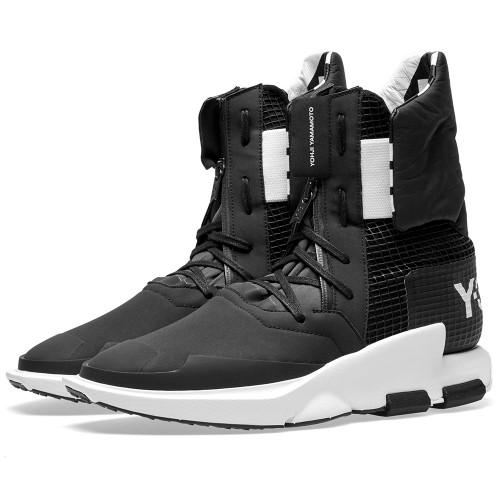 送料無料 Men's メンズ 店舗限定 ADIDAS Y-3 NOCI HIGH Utility Black & Core Black BY2625 アディダス Y3 ノッキ ハイ ブラック コラボ コラボレーション ファッション スニーカー 靴 人気 アパレル