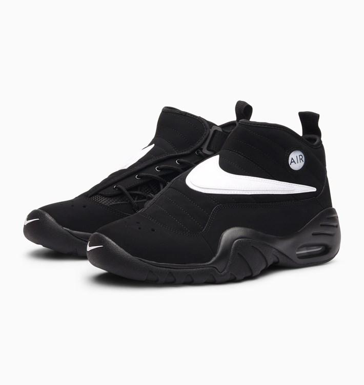 【代金引換不可】 送料無料 Men's メンズ 店舗限定 Nike Air Shake Ndestrukt Black White Black Team Orange 880869-001 ナイキ エア シェイク インデストラクト ブラック ホワイト デニス・ロッドマン バスケ バスケットボール ファッション スニーカー 靴 人気 アパレル