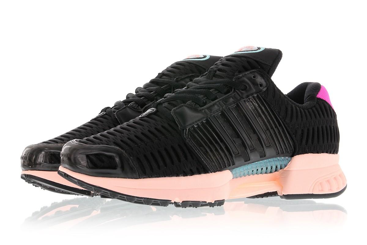 送料無料 Women's ウーメンズ 店舗限定 Adidas CLIMACOOL 1 W Core Black/Core Black/Haze Coral BB5303 アディダス クライマクール 1 W ブラック ピンク 女子 女性 シューズ スニーカー 靴 人気 かわいい おしゃれ