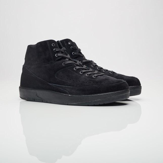 【代金引換不可】 送料無料 Men's メンズ 店舗限定 Brand Jordan Air Jordan 2 Retro Decon Black/Black 897521-010 ブランド ジョーダン エアジョーダン 2 レトロ デコン ブラック バスケット バッシュ スニーカー 靴 ファッション アパレル