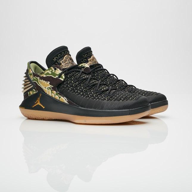 【代金引換不可】 送料無料 Men's メンズ 店舗限定 Jordan Brand Air Jordan XXXII Low Black/Metallic Gold/Gum Yellow AA1256-021 ジョーダンブランド エア ジョーダン 32 ロー ブラック メタリック ゴールド ガム イエロー 靴 スニーカー アパレル ファッション