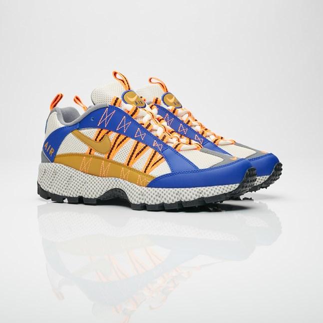 【代金引換不可】 送料無料 Men's メンズ 店舗限定 Nike Sportswear Air Humara '17 QS Concord/Bronzine/Light Cream AO3297-400 ナイキ スポーツウェア エア フマラ 17 QS ブラウン オレンジ ブルー ホワイト 靴 スニーカー