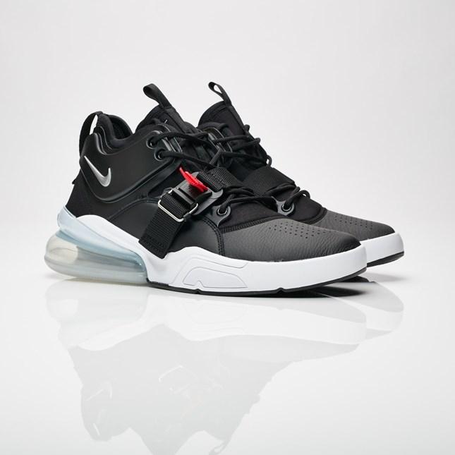 【代金引換不可】 送料無料 Men's メンズ 店舗限定 Nike Sportswear Air Force 270 Black/Metallic Silver/White AH6772-001 ナイキ エアフォース 270 ブラック メタリック シルバー ホワイト 靴 スニーカー アパレル ファッション